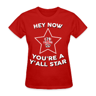 T-Shirts ~ Women's T-Shirt ~ Y'all Star Women's