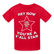 Kids' Shirts ~ Kids' T-Shirt ~ Youth Y'all Star