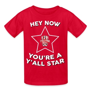 Youth Y'all Star - Kids' T-Shirt
