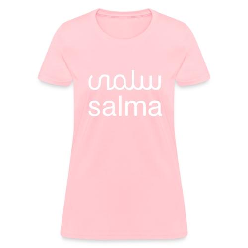 Salma Ladies Pink Tee - Women's T-Shirt