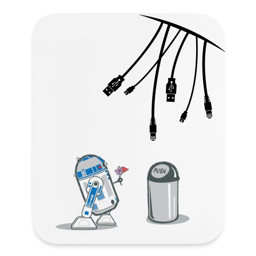 R2-D2 Mouse Pad - Mouse pad Vertical