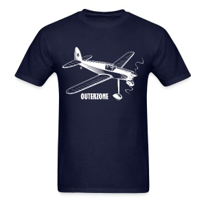 Outerzone, white logo - Men's T-Shirt