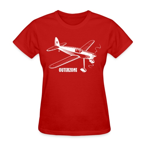 Outerzone, white logo (women) - Women's T-Shirt