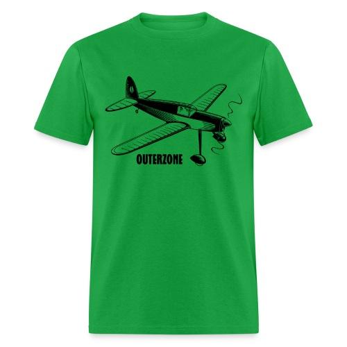 Outerzone, black logo - Men's T-Shirt