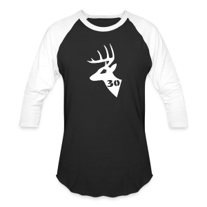 Men's Baseball T - Black - Baseball T-Shirt