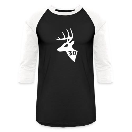 Men's Baseball T - Black - Baseball T-Shirt