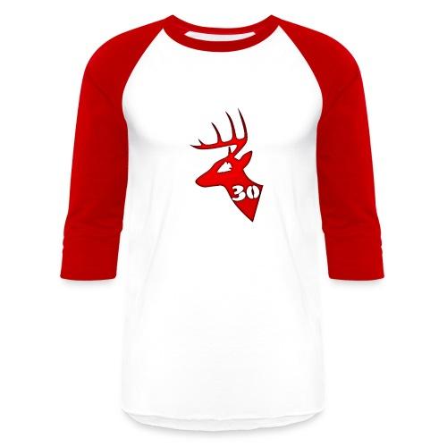 Men's Baseball T - Red - Baseball T-Shirt