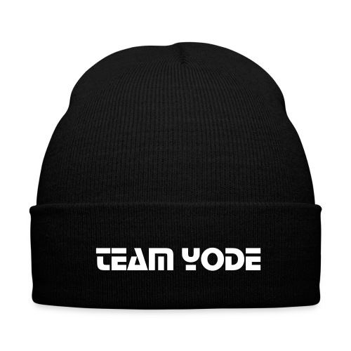Team Yode Hat - Knit Cap with Cuff Print