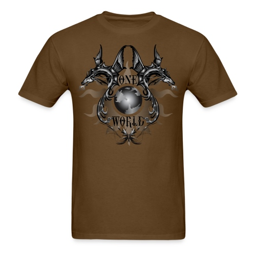 One World - Mens Standard Tshirt - Men's T-Shirt