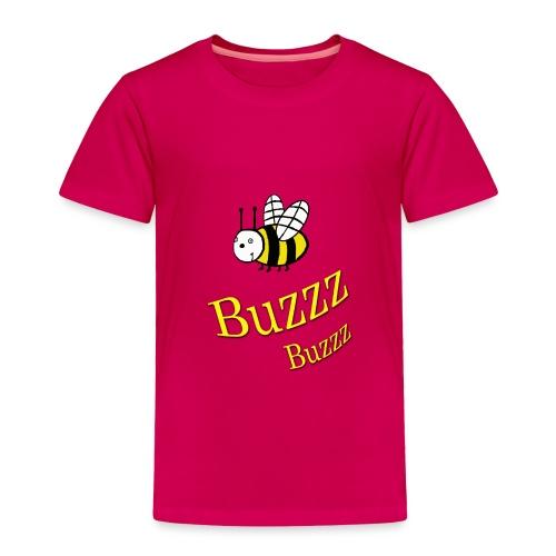 Bumble Bee Buzz - Toddler Premium T-Shirt