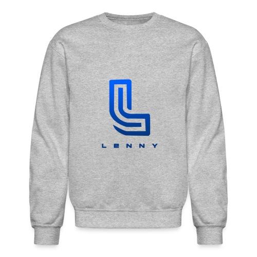 Lenny Blue Logo Crewneck Sweatshirt - Crewneck Sweatshirt