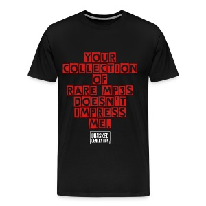 MENS mp3 TEE BLK  - Men's Premium T-Shirt