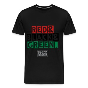 FEB RBG MENS TEE - Men's Premium T-Shirt