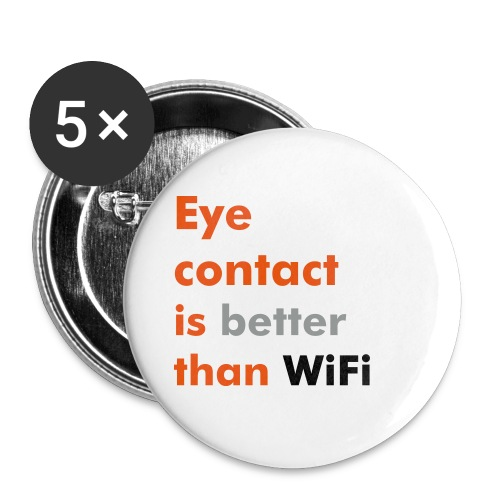 Macaron Eye contact vs WiFi - Small Buttons