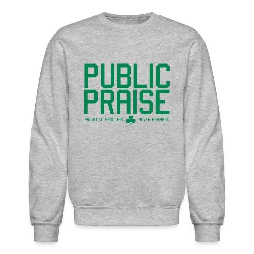 Parquet 17 Gray Sweatshirt  - Crewneck Sweatshirt