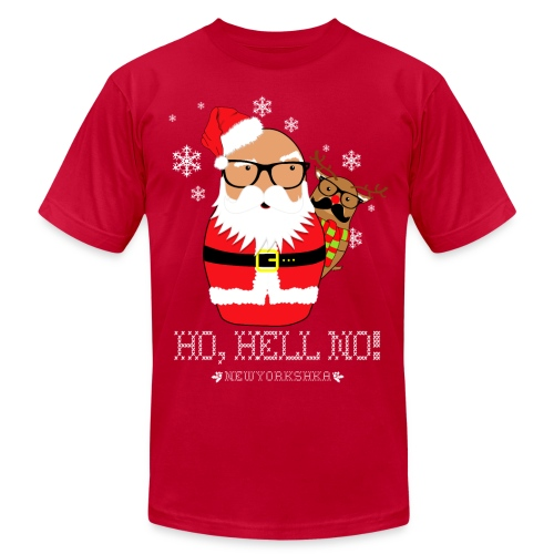 Shady Santa - Men's Fine Jersey T-Shirt