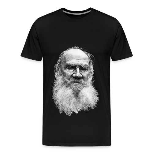 Count Lev Nikolayevich Tolstoy - Men's Premium T-Shirt