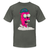 T-Shirts ~ Men's T-Shirt by American Apparel ~ [melting_homer]