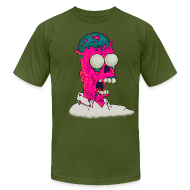 T-Shirts ~ Men's T-Shirt by American Apparel ~ [melting_homer]
