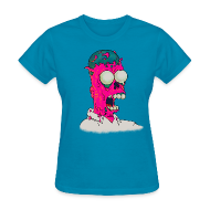 Women's T-Shirts ~ Women's T-Shirt ~ [melting_homer]