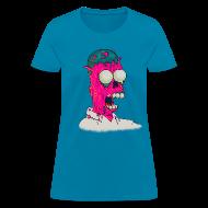 Women's T-Shirts ~ Women's T-Shirt ~ [melting_homer]