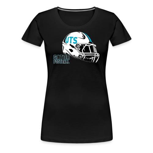 Women's UTS Helmet Premuim T-shirt - Black - Women's Premium T-Shirt