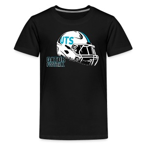 Kid's UTS Helmet Premuim T-shirt - Black - Kids' Premium T-Shirt