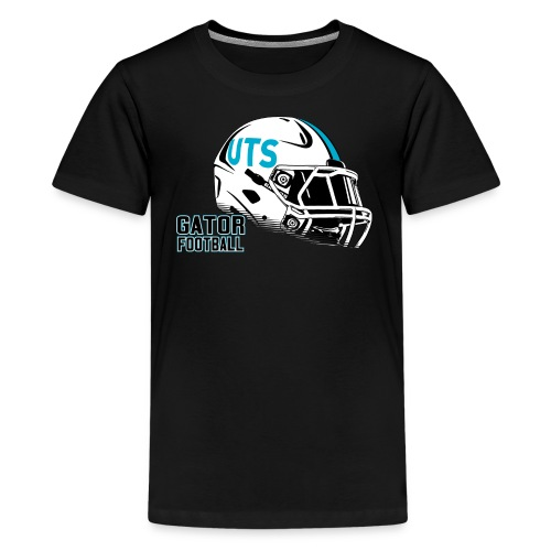 Kid's UTS Helmet Premuim T-shirt - Black - Kids' Premium T-Shirt