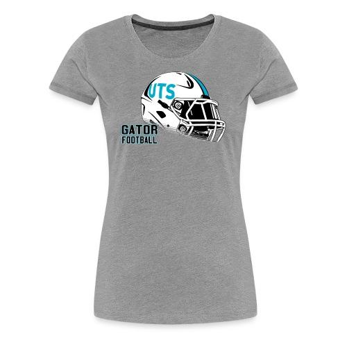 Women's UTS Helmet Premuim T-shirt - Gray - Women's Premium T-Shirt