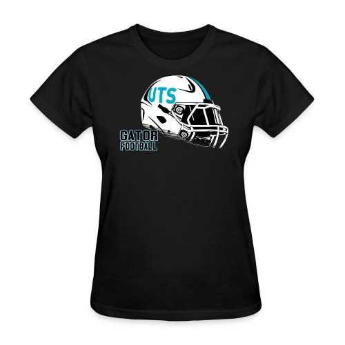 Women's UTS Helmet Regular T-shirt - Black - Women's T-Shirt