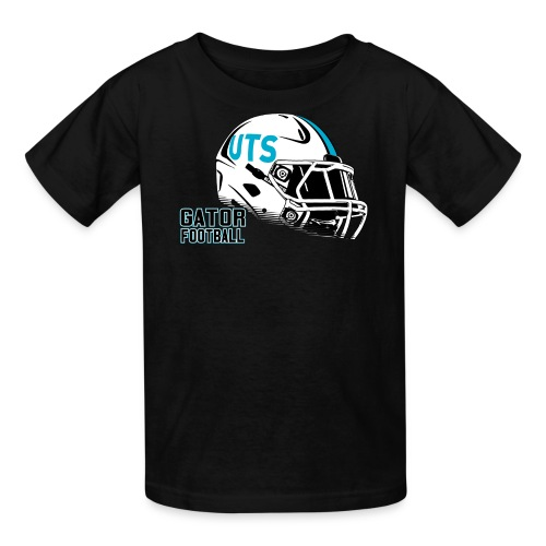 Kid's UTS Helmet Regular T-shirt - Black - Kids' T-Shirt