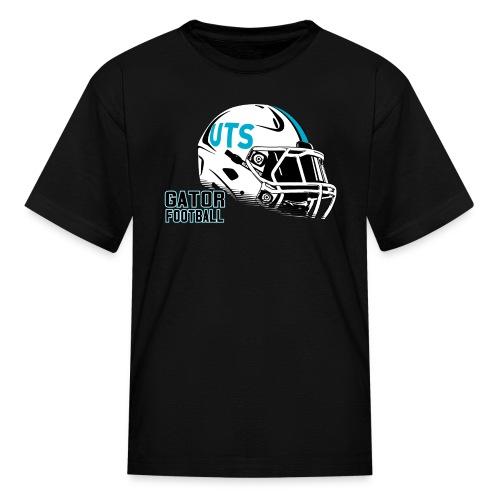 Kid's UTS Helmet Regular T-shirt - Black - Kids' T-Shirt