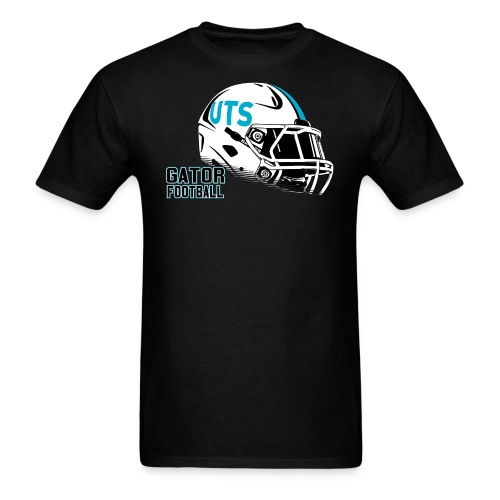 Men's UTS Helmet Regular T-shirt - Black - Men's T-Shirt