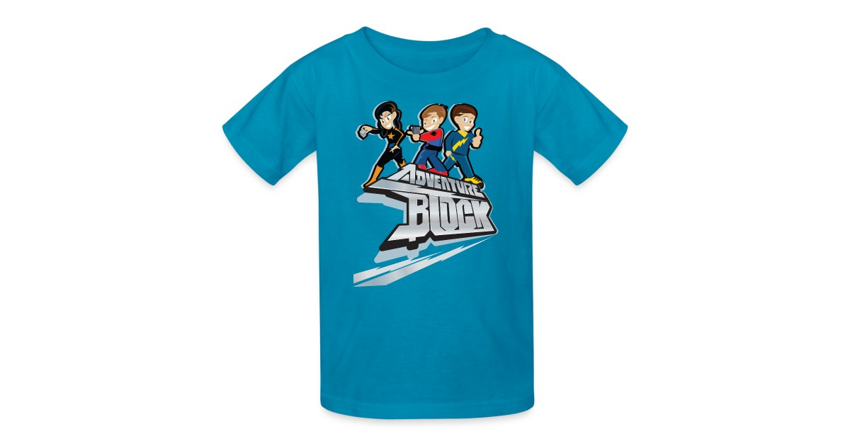 Funnel vision fgteev doh much fun sky kids adventure for Design your own t shirt big and tall