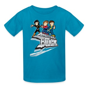Adventure Block Kids T-Shirt - Kids' T-Shirt