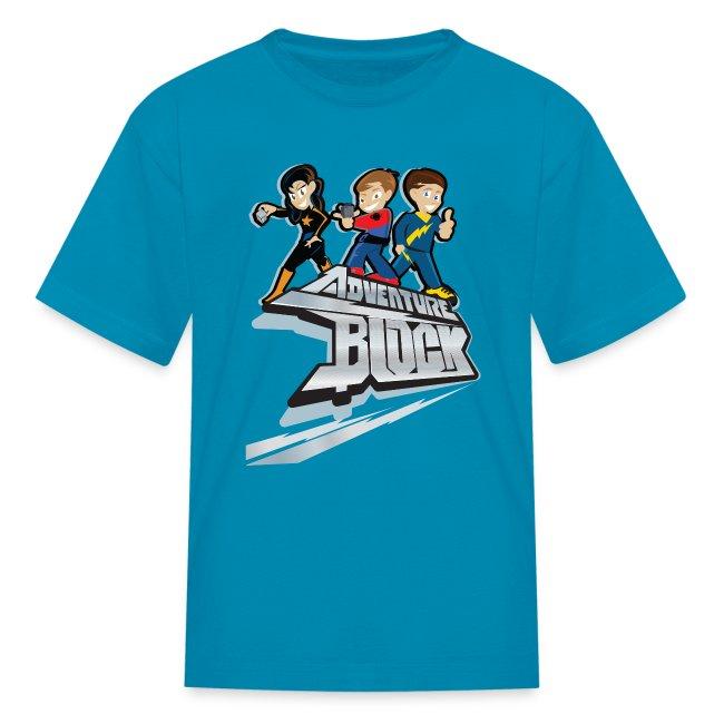 Adventure Block Kids T-Shirt