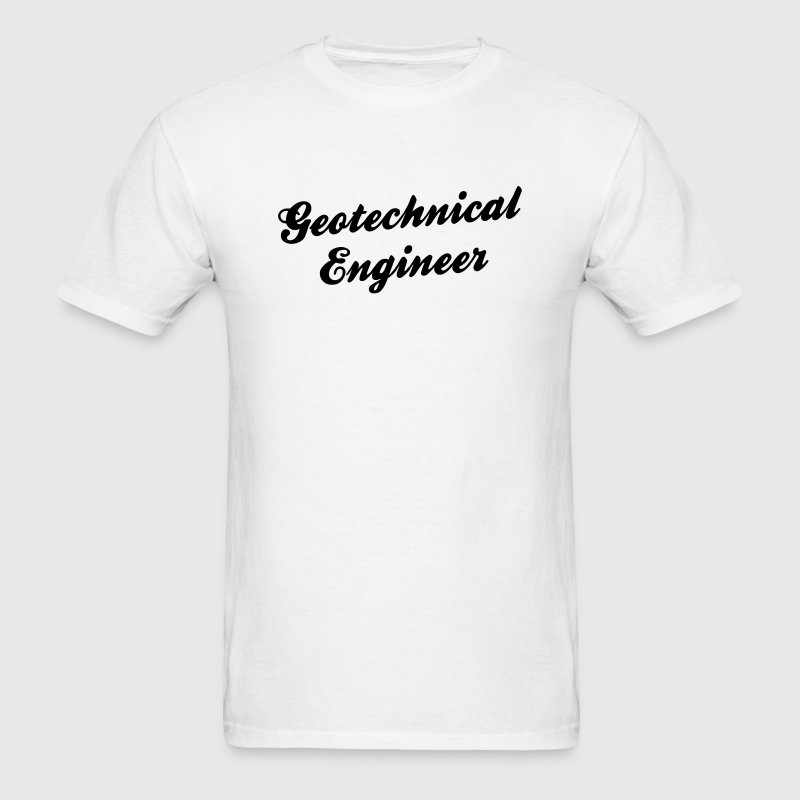 geotechnical engineer t-shirt - Men's T-Shirt