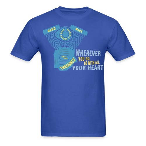 Go with all your heart - Men's T-Shirt