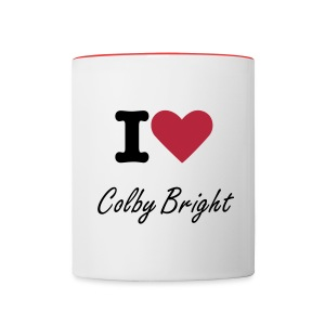 Colby Bright Music - Contrast Coffee Mug