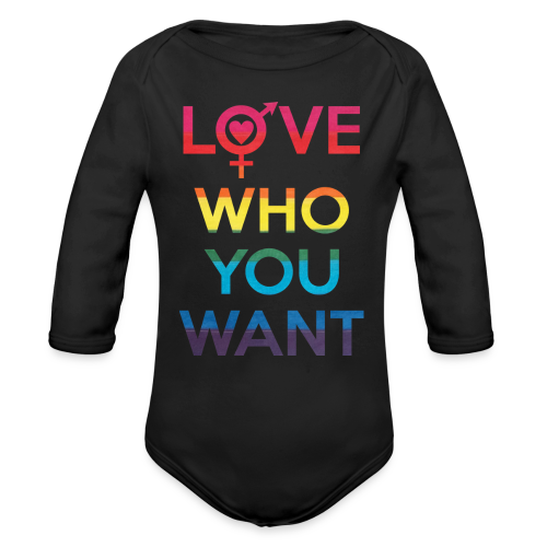 Love Who You Want LGBT Pride