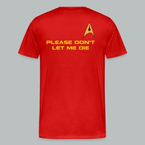 A Red Shirt's Request-Big&Tall - Men's Premium T-Shirt