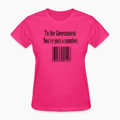 government number Women's T-Shirts