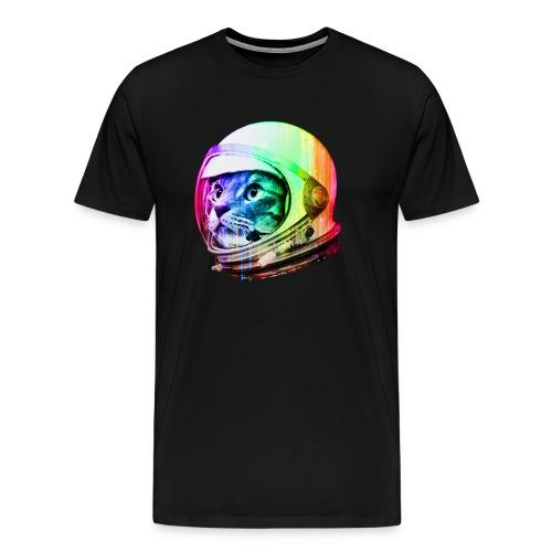 Astronaut Space Cat - Men's Premium T-Shirt