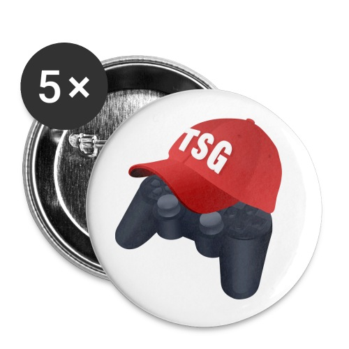 ThatSportsGamer Pin - Buttons small 1'' (5-pack)