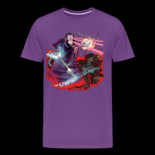 Shredding Death - Men's Premium T-Shirt