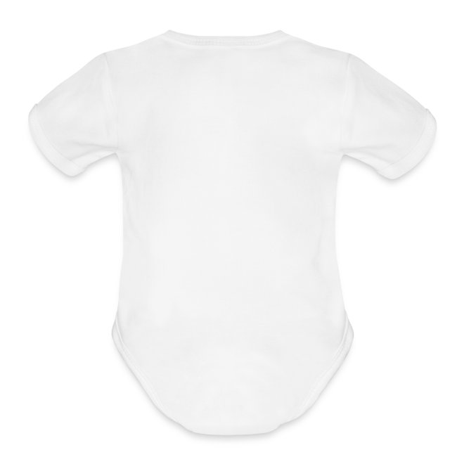Enter Shaolin Baby Short Sleeve T-shirt Onsie in White (Front Logo)