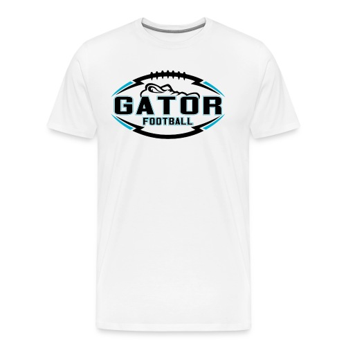 Men's UTS Gator Premuim T-shirt - White - Men's Premium T-Shirt