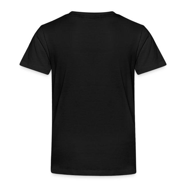 Enter Shaolin Toddler Short Sleeve T-shirt in Black (Front Logo)