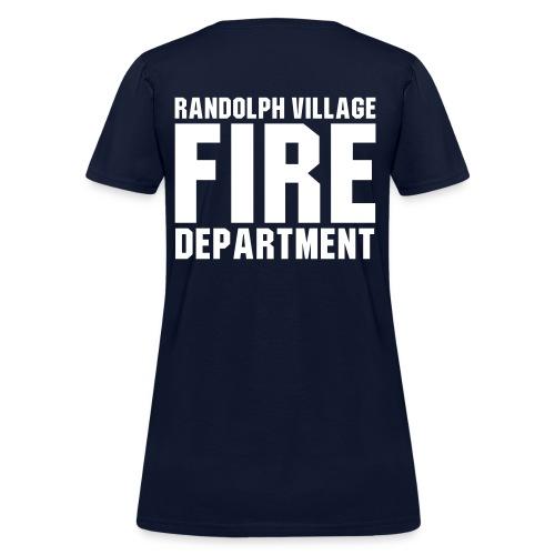RVFD Firefighter Womens Tee - Women's T-Shirt