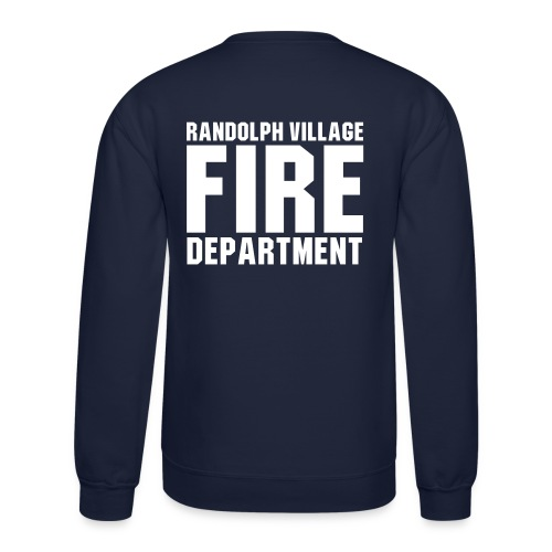 RVFD Firefighter Men's Crewneck Sweatshirt - Crewneck Sweatshirt